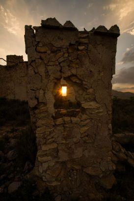 Sunset Hondon de los Frailes, Alicante, Spain