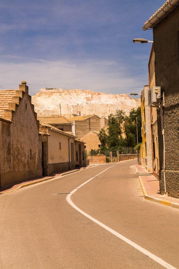 Marmergroeve, Algueña, Spanje