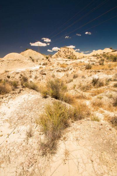 Woestijn regio Murcia