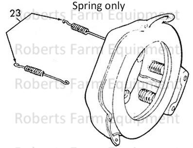 Ford Tractor 8N, 9N and 2N Clutch Release Bearing Spring-9N7