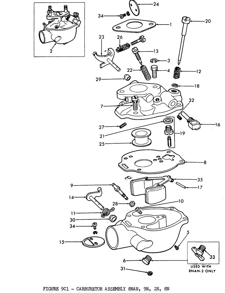 farmall cub carburetor diagram