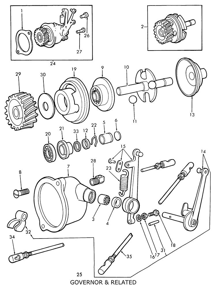 Mey Ferguson Engine Diagrams Engine Bearings Wiring