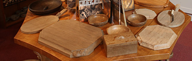 The Mouseman Visitor Centre  hand crafted oak furniture