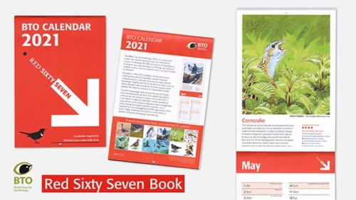 Red Sixty Seven Calendar