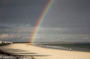 Wells Beach Rainbow