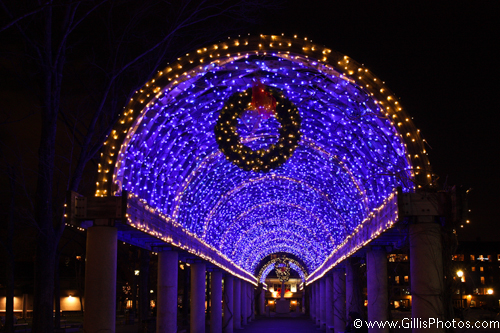 Christopher Columbus Park Christmas - GillisPhotos.com