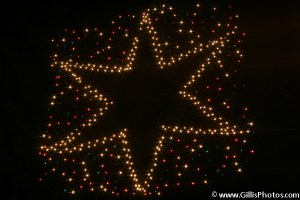 Downtown Boston Christmas Star