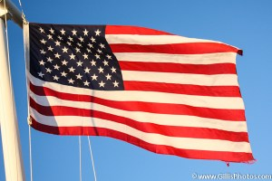 12 America - US Flag flying at Hull Yacht Club