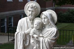 Saint Marys Church - Foxboro - Holy Family - Peace Garden