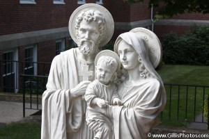 Saint Marys Church - Foxboro - Holy Family - Peace Garden