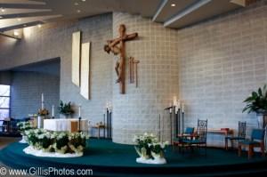Altar at La Salette Shrine