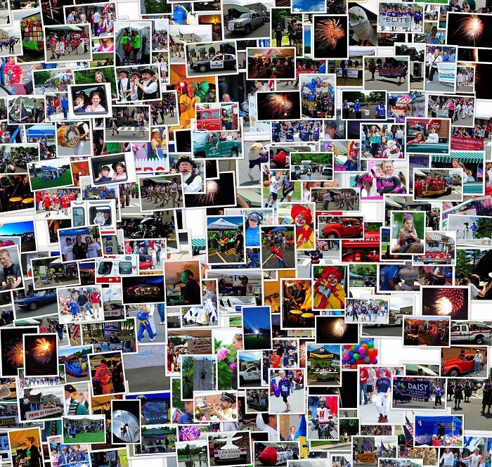 A mosaic of activates from Founders Day, From the Foxborough Founders Day web site