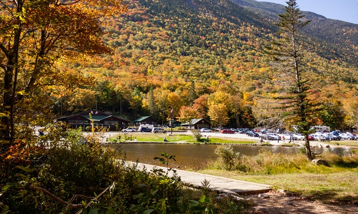 Crawford Notch, across the street from the Willey Site, Autumn, 2014