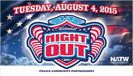 National Night Out 2015 banner from their official web site.
