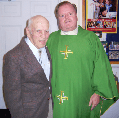Father Steve Madden and Bob Shea 2009