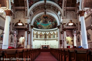 Interior of beautiful St Leonard Church, North End 42 North End - Saint Leonards Church
