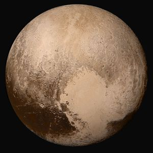 The PLANET Pluto.  Because I said so.  PLANET.  PLANET.  PLANET PLUTO.  Image by NASA.gov because if *I* had taken this imagine I would have a LOT of explaining to do.