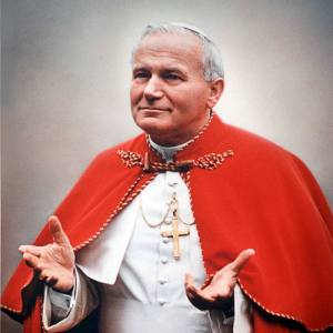 Pope John-Paul II in 1979. CNN.com image