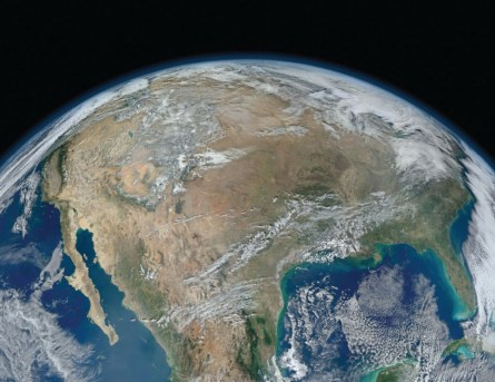 Image of the United States from space -- (nasa.gov)