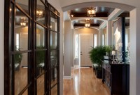 Glamorous Modern Entry Before and After Robeson Design ...