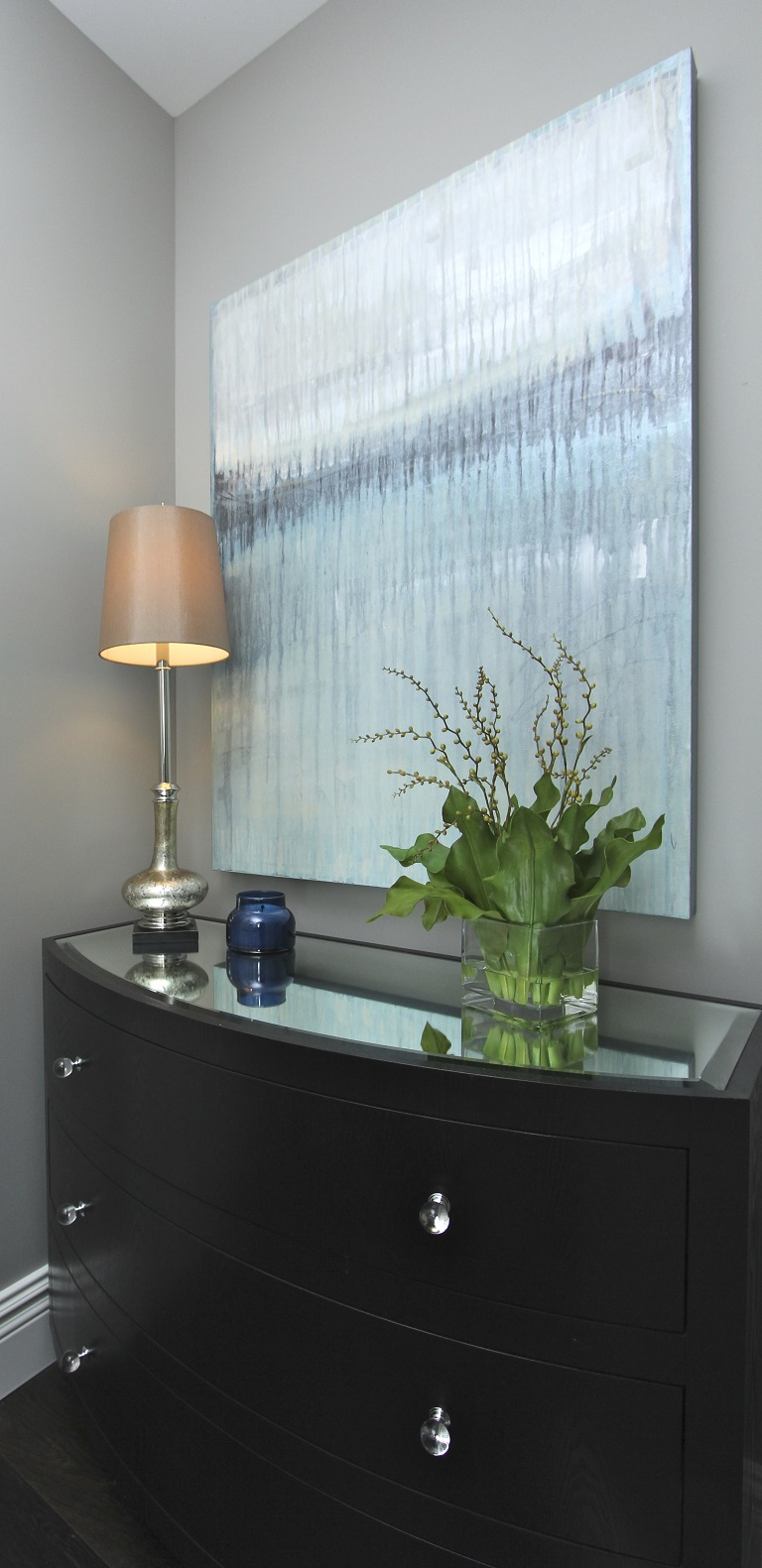 Hamptons Inspired Luxury Powder Room Robeson Design  San