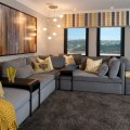 Hamptons inspired luxury home theater robeson design