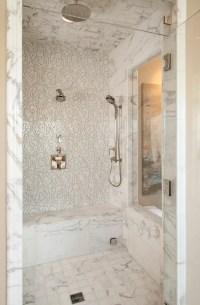 Vibrant Transitional Master Bathroom Robeson Design | San ...