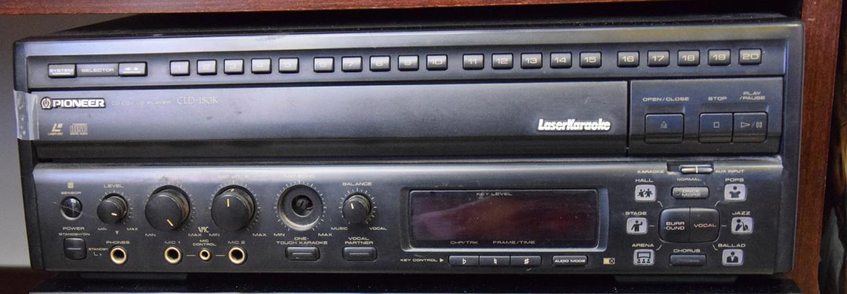 Stereo laser karaoke Pioneer CLD150k  Robevecie