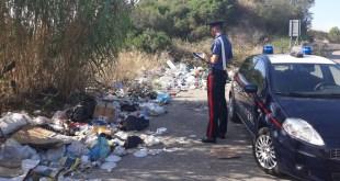 Discariche abusive scoperte dai Carabinieri a Pisticci, Marconia, Bernalda e Metaponto