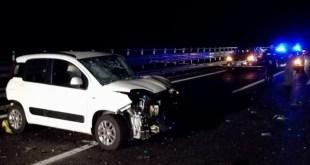 A causa della pioggia diversi incidenti tra auto con feriti a Potenza e dintorni