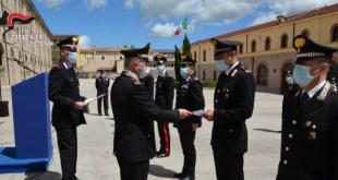 Potenza, premiati 20 Carabinieri distintisi nel proprio lavoro