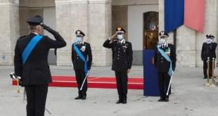"""Potenza, cambio del Comandante della Legione Carabinieri """"Basilicata"""" – Video"""