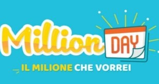 "Al ""Million Day"", 1 milione di euro vinti in Basilicata"