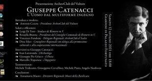 """Rionero in Vulture, presentazione ArcheoClub del Vulture """"Giuseppe Catenacci"""""""