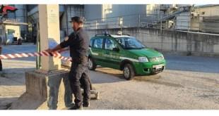 Chiaromonte, gestione illecita rifiuti, area sotto sequestro – Video