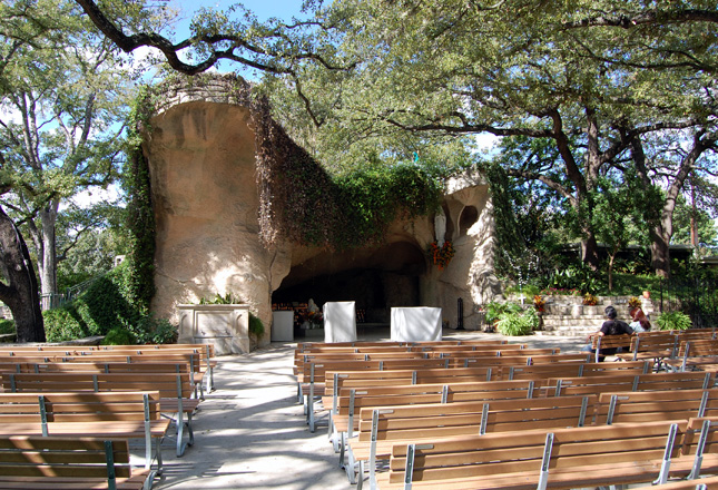 The Oblate Grotto Robey Architecture Inc