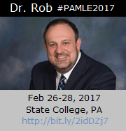 Dr. Rob at PAMLE2017