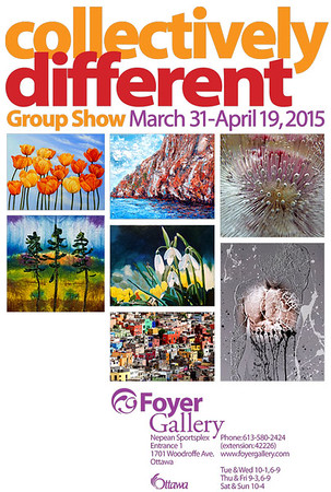 Collectively Different - Exhibition at Foyer Gallery