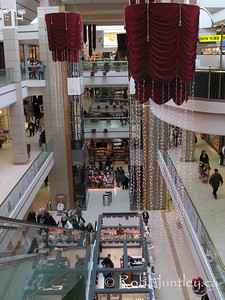 Bayshore Mall looking down from the third floor. Ottawa, Ontario.