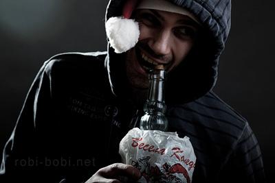 52i santana draft drinking santa