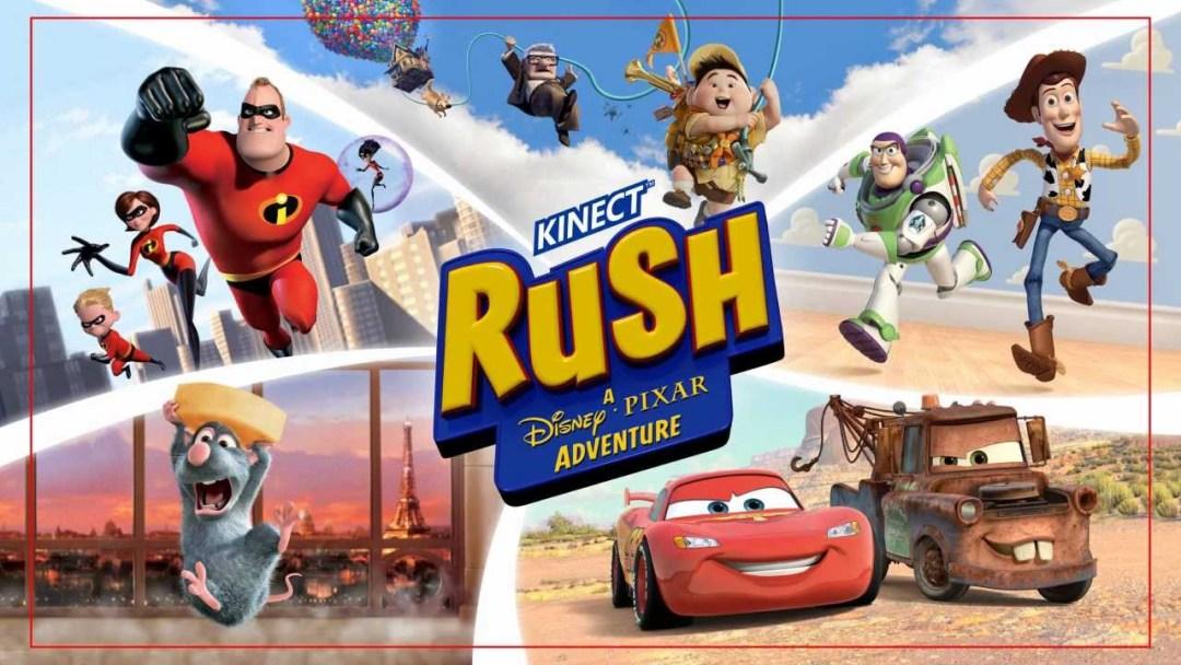 Kinect Rush