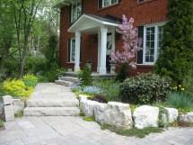 Steps And Entrances Robin Aggus - Natural Landscaping