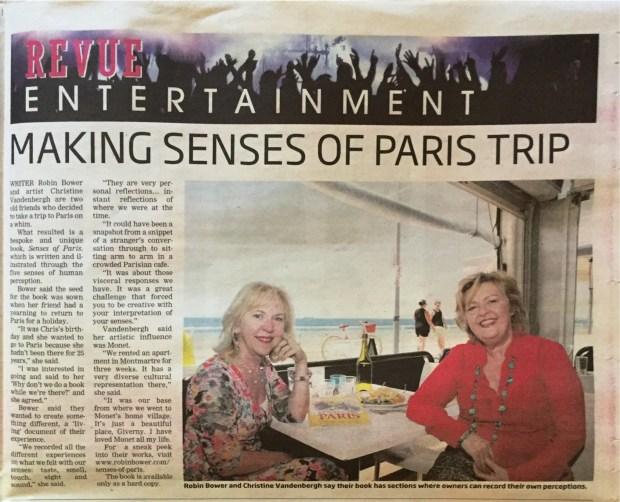 Weekend Courier Senses of Paris