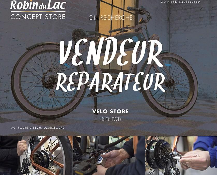 On Recherche Vendeur/Reparateur