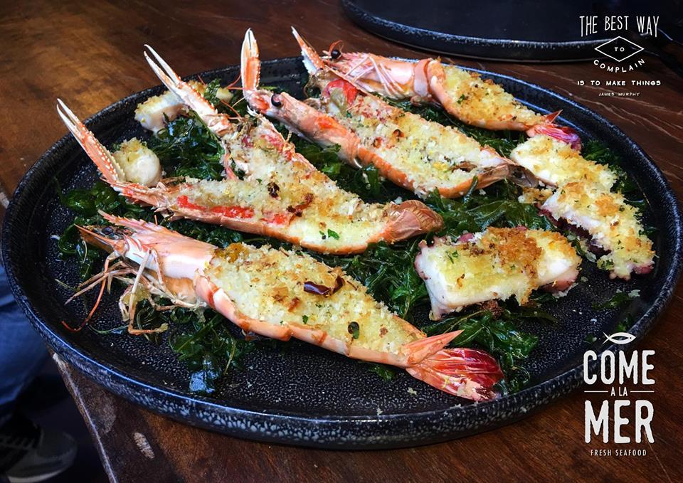Restaurant Come à la Mer - Fruit de Mer et Crustacés - Robin du Lac Concept Store - Luxembourg (1)
