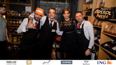 Aperol Spritz Party - 100 Years of Joy - Aperinetwork - Come à la Maison - Robin du Lac Concept Store - Luxembourg (148)