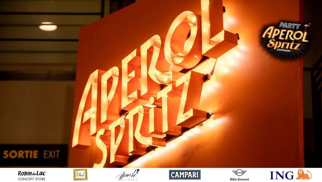 Pictures Aperol Spritz Party 100 Years of Joy – Luxembourg