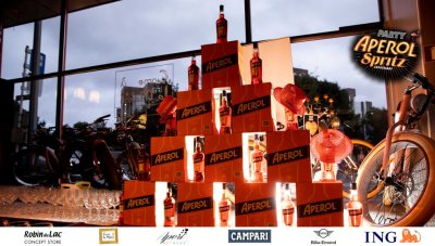 Aperol Spritz Party - 100 Years of Joy - Aperinetwork - Come à la Maison - Robin du Lac Concept Store - Luxembourg (6)