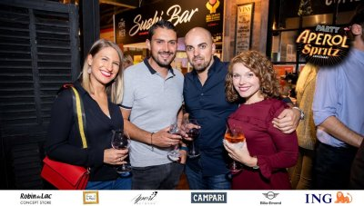 Aperol Spritz Party - 100 Years of Joy - Aperinetwork - Come à la Maison - Robin du Lac Concept Store - Luxembourg (76)