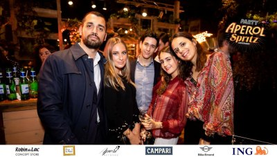 Aperol Spritz Party - 100 Years of Joy - Aperinetwork - Come à la Maison - Robin du Lac Concept Store - Luxembourg (97)